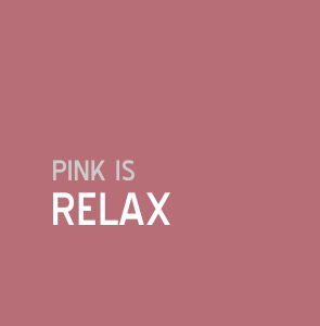 Pink is relax | Colour and Health