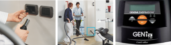 General D'Aspirazione Centralized Vacuum Cleaner | Aroma Italiano Eco Design