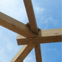 Wood Roof Structure  | Aroma Italiano Eco Design