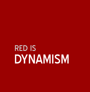 Red is dynamism | Colour and Health