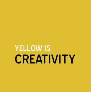 Yellow is creativity | Colour and Health