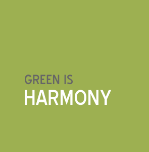 Green is harmony | Colour and Health